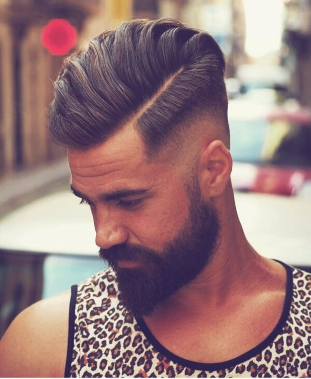 Popular Undercut Haircut Men