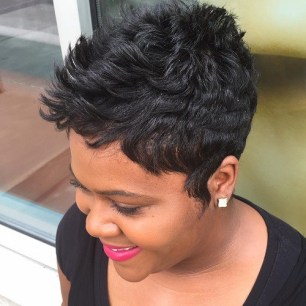 Short Black Hairstyles 2018