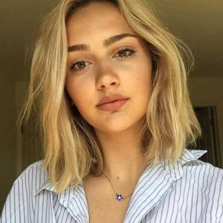 Short Hair For Round Faces 25