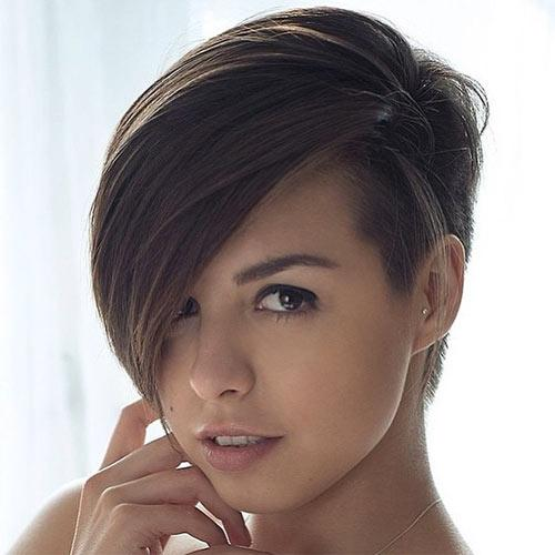 Short Hairstyles For Oval Faces 2018 11