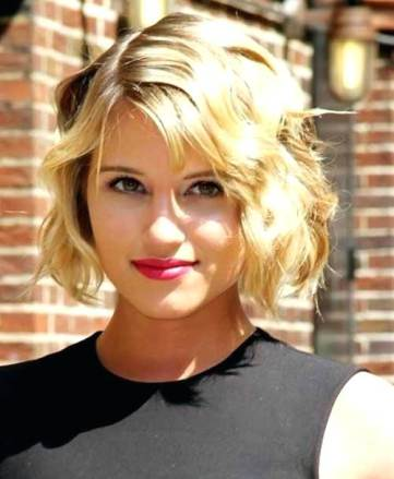Short Hairstyles For Round Faces 20