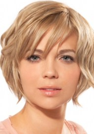 Short Hairstyles For Round Faces 2018 16