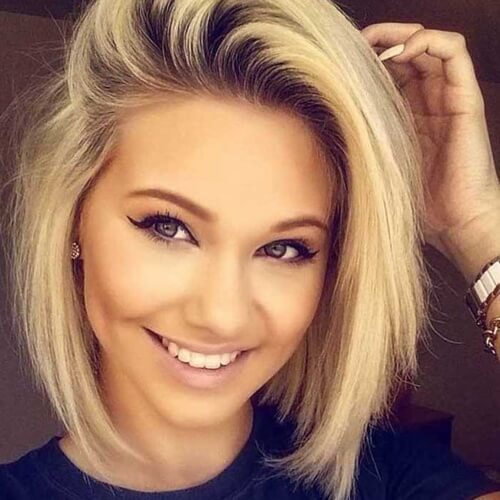 Short Hairstyles For Round Faces 2018 18 - Hairstyles Fashion and ...
