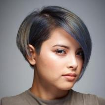 Short Hairstyles For Round Faces 2018 3