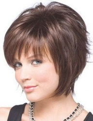 Short Hairstyles For Round Faces And Thick Hair Women Short Within Gorgeous Short Hairstyles For Round Faces And Thick Hair