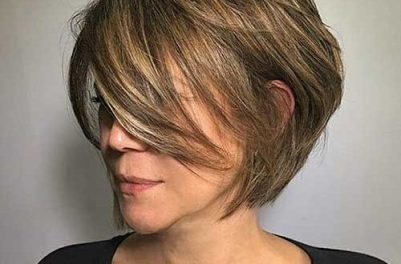 Short Layered Bob Hairstyles 17