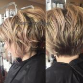Short Layered Bob Hairstyles 21
