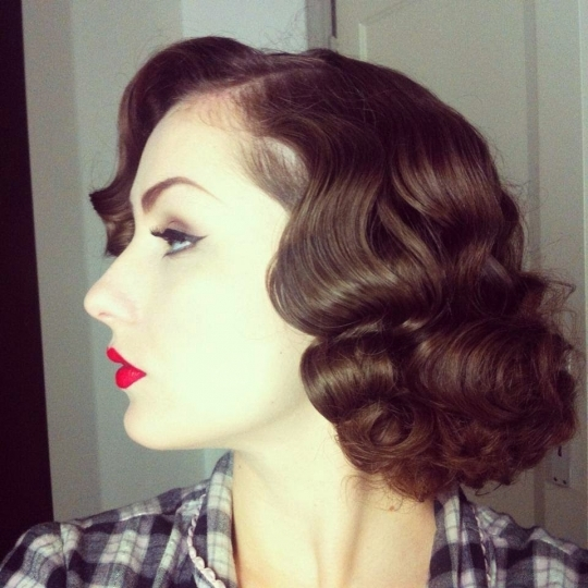 Awesome Image 17 Of 19 Short Retro Vintage Hairstyle Photo Gallery