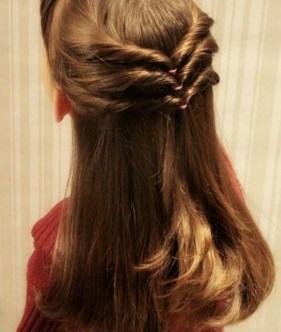 Simple Hairstyles For Girls 13