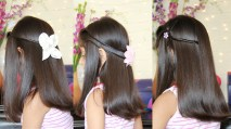Simple Hairstyles For Girls 27