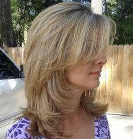 Medium Layered Haircuts 7