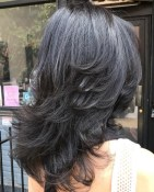Medium Layered Haircuts 9
