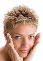 Spiky Haircuts For Women 1