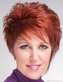 Spiky Haircuts For Women 23