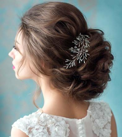 Wedding Hairstyles For Short Hair 20