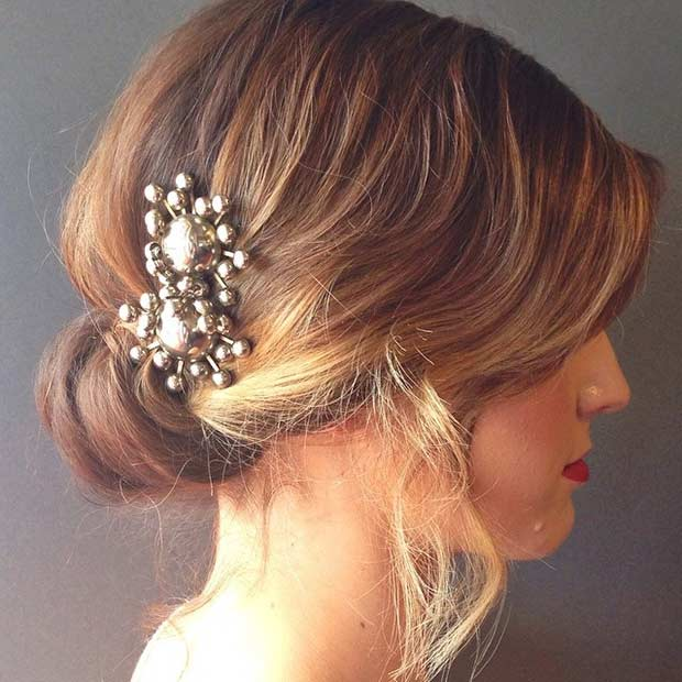 Wedding Hairstyles For Short Hair 26