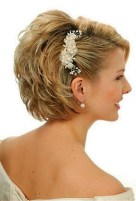 Wedding Hairstyles For Short Hair 32