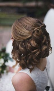 Wedding Hairstyles For Short Hair 6