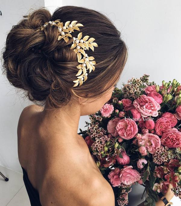 Wedding Updo Hairstyles For Long Hair 27