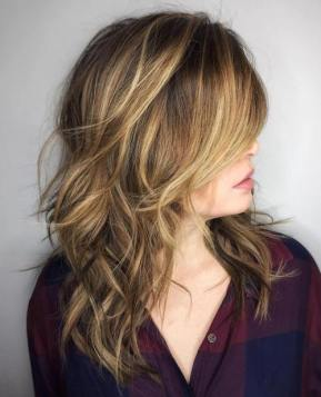 1 Medium Length Layered Haircut