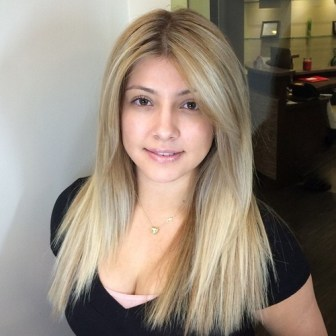 18 Straight Brown Blonde Hairstyle