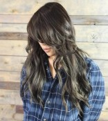 5 Long Messy Layered Hairstyle