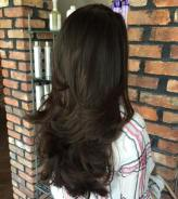 6 Long Layered Brunette Hairstyle