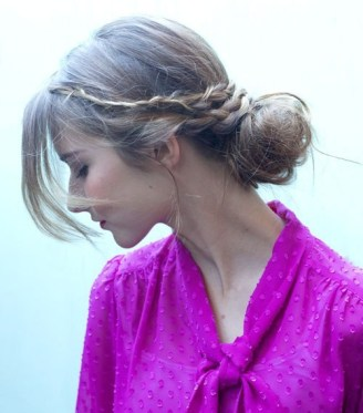 8 Messy Casual Updo For Long Hair