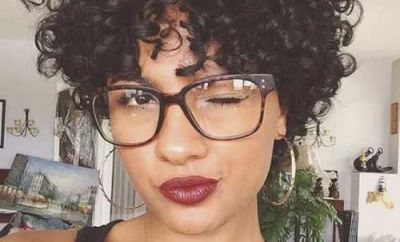 Black Short Curly Hairstyles 37