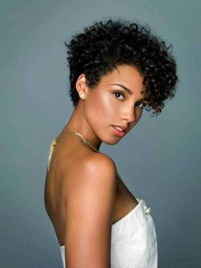 Black Short Curly Hairstyles 40