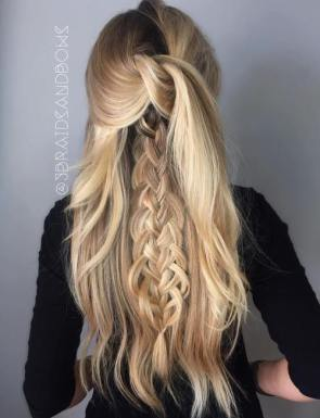 Braided Hairstyles For Long Hair 31