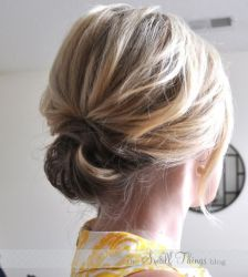 Casual Updos For Long Hair 13