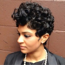 Curly Pixie Hair 58