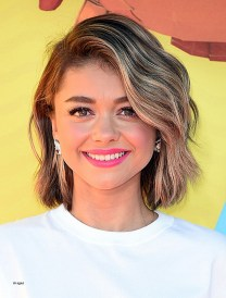 Hairstyles For Short Curly Hair For Kids Awesome Sarah Hyland Latest