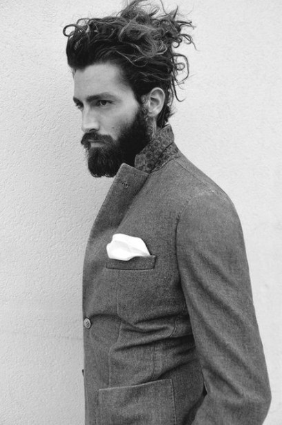 Hairstyles For Long Hair Men 40