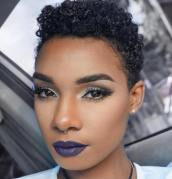 2 Very Short Natural Hairstyle For Women