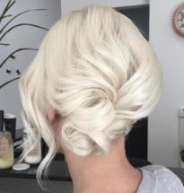 3 Side Low Knot Updo