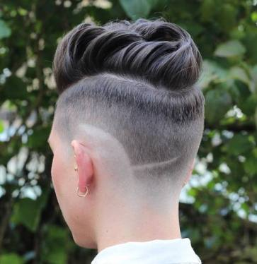 3 Womens Long Top Short Sides Hairstyle