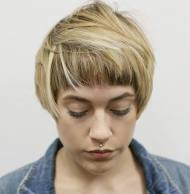 4 Short Choppy Bob