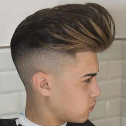 Big Pomp Undercut Fade Line Up