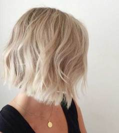 Blonde Short Hair