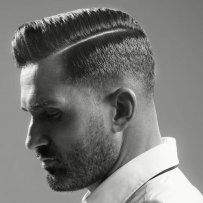 Classic Comb Over Side Part