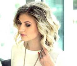 Cool Wavy Short Haircuts For Women