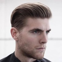 Haircuts For Men With Thick Hair Slicked Back