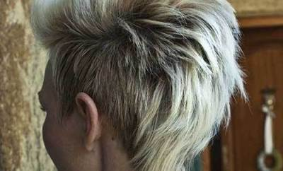 Hairstyle Ideas For Short Mohawk Hair