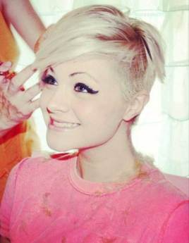 Images For Blonde Pixie
