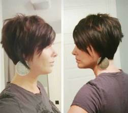 Layered Long Pixie Cut