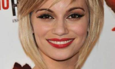 Short Bob With Thin Bangs For Women
