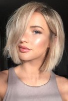 Best 20+ Medium Short Hairstyles Ideas On Pinterest | Short Hair Regarding Short Medium Length Haircuts
