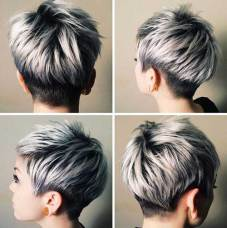 Very Short Female Haircut